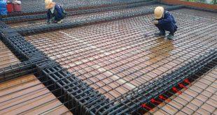 Xác định khối lượng sắt cho 1m2 sàn bê tông nhà dân dụng